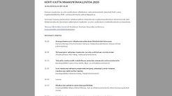 Kohti uutta maakuntahallintoa 2020, Kajaanissa 12.2.2017