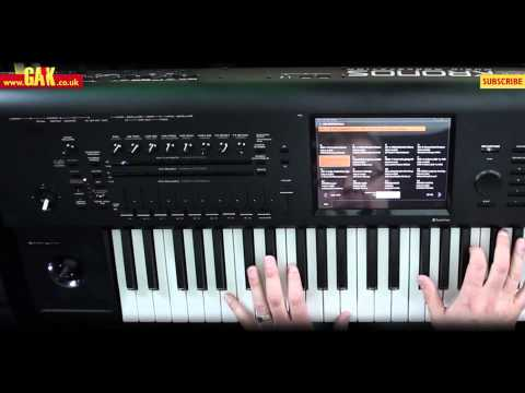 Korg Kronos Music Workstation Demo - PART 1