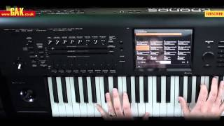 Korg Kronos Music Workstation Demo - PART 1(, 2013-07-30T09:41:29.000Z)