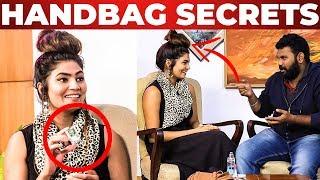 SOPPANA SUNDARI Title Winner Dimple Angelin Handbag Revealed – What's Inside the HANDBAG
