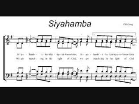 Siyahamba Choir Version Lyrics