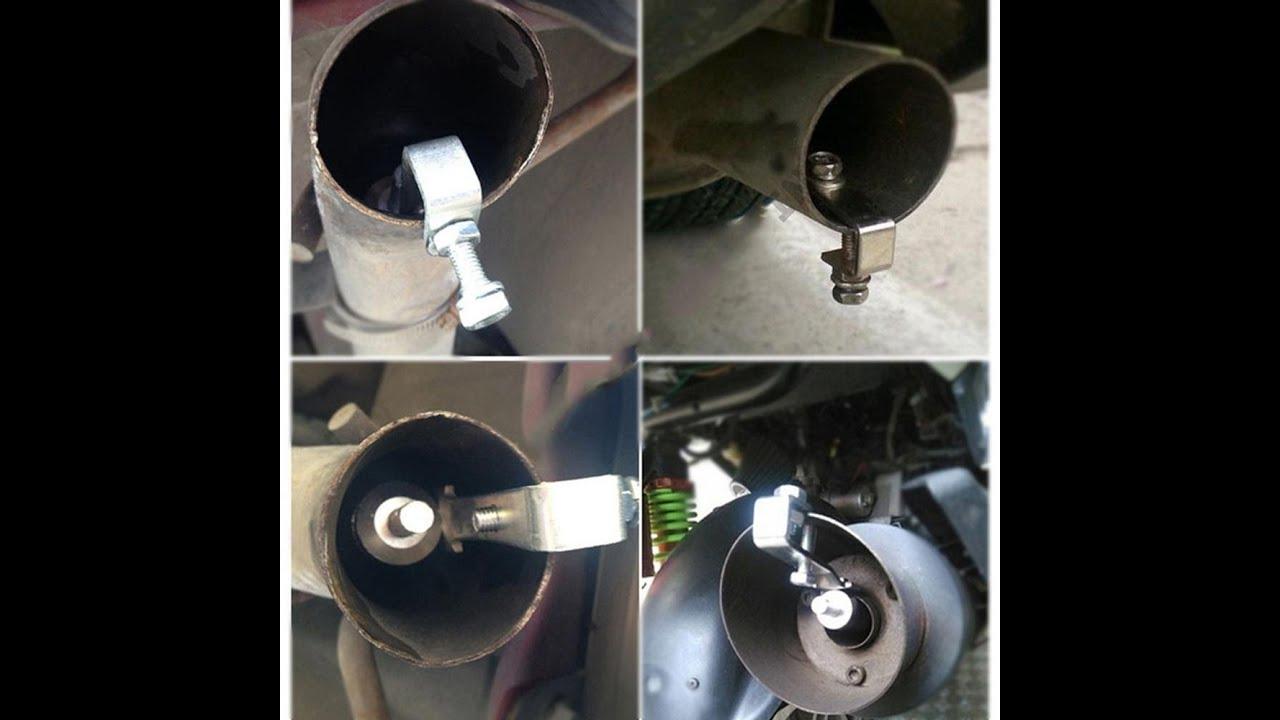 exhaust pipe roar maker