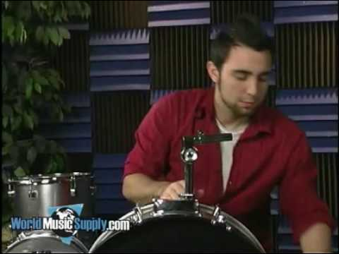 How To Assemble 5 Piece Drum Set 1 Of 2 Youtube