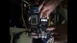 How to possibly fix a motherboard that will turn on but no display  get fix it