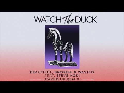 WatchTheDuck - Beautiful, Broken, & Wasted (feat. Steve Aoki) [Caked Up Remix] | Dim Mak Records