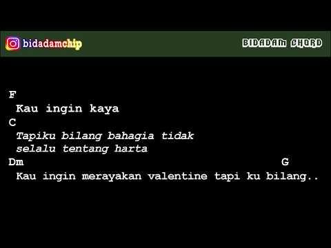 [CHORD] Fiersa Besari - Bukan Lagu Valentine (+Lirik)