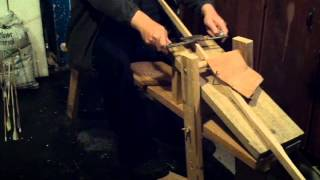 Archery Homemade Draw Knife Bench