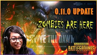 🔴 0.11.0 NEW UPDATE! ZOMBIE MODE IS HERE! #PUBGMOBILE live with BLACKHORSE ! #221