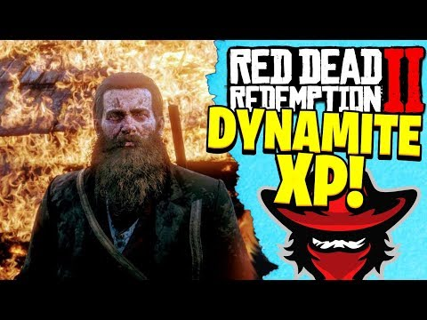 HOW TO RANK UP IN RED DEAD REDEMPTION 2 ONLINE | RDR2 DYNAMITE XP Tips! thumbnail