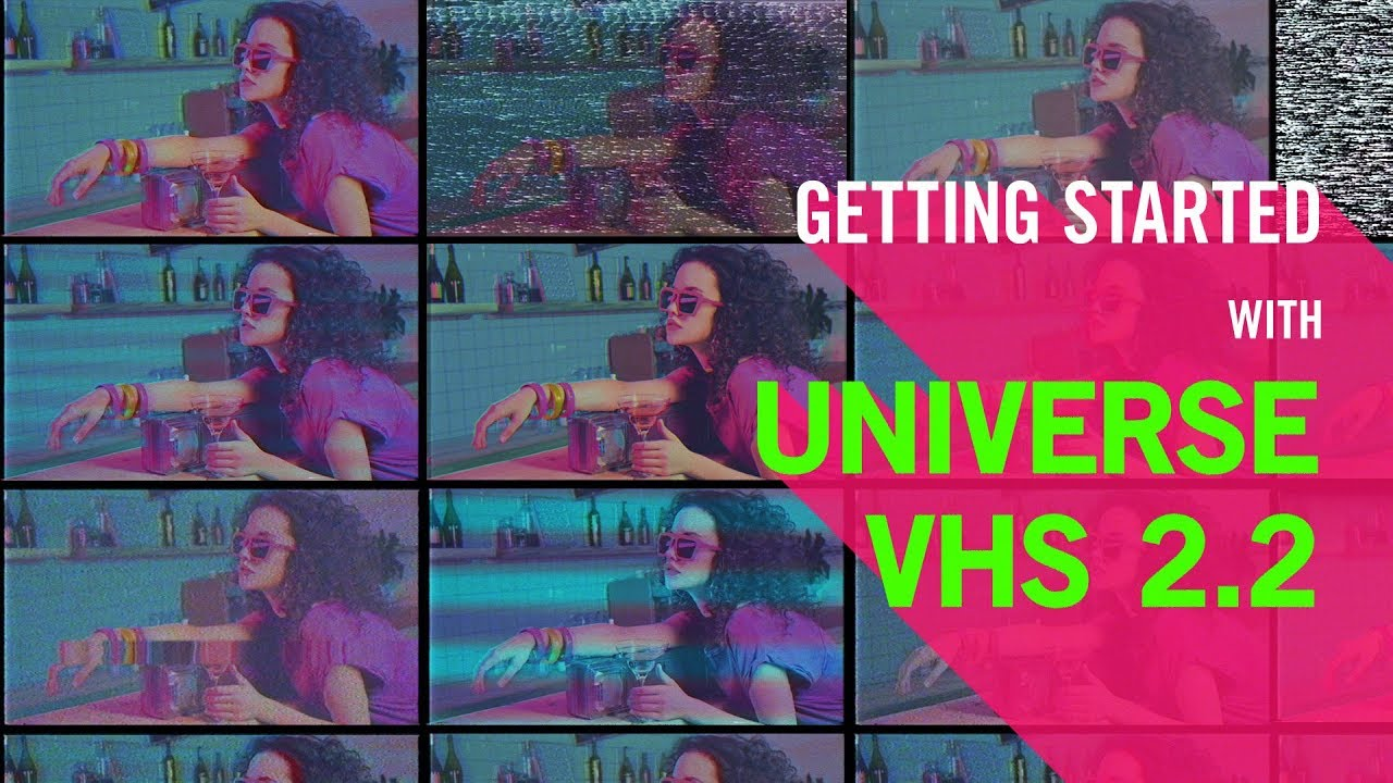 Buy Universe VHS from Red Giant | Video Tape Effect for