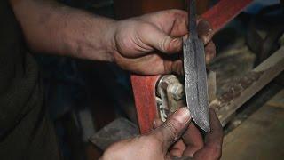 Кузница Северные Врата. Рождение ножа из дамасской стали.