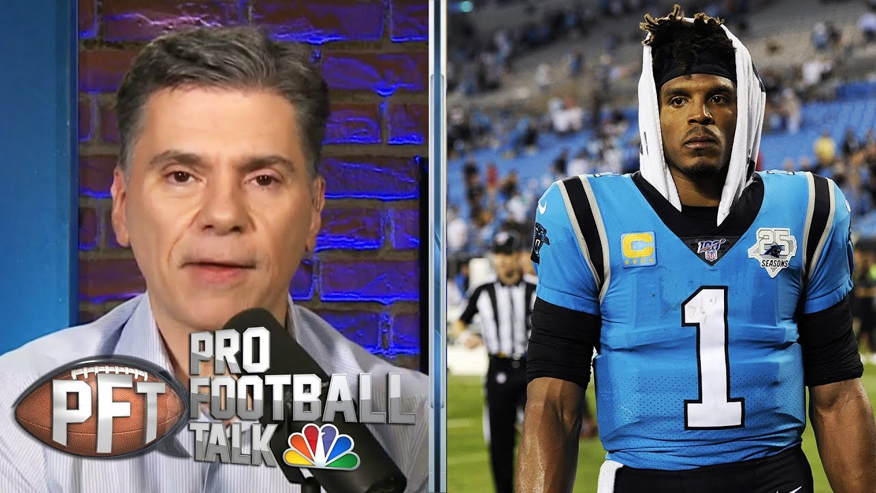 Panthers should be worried about Cam Newton | Pro Football Talk | NBC Sports