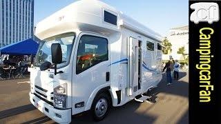 【SAKURA】ビーカムベースの新型スタンダードキャブコン Japanese motorhome camping car thumbnail