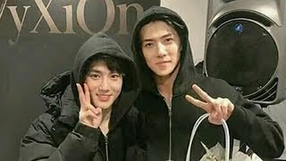 EXO Suho and Sehun Best Friendship and Closer Forever