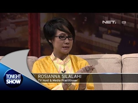 Tonight Show-Rosiana Silalahi Pernah Bikin Kesal Ahmadinejad