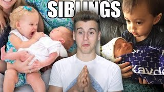 Hilarious Kids' Reactions To Their New Siblings
