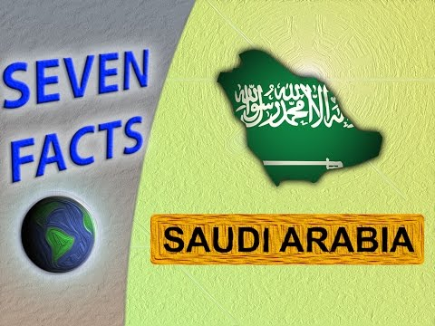 7 Facts about Saudi Arabia