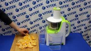 Апельсиновый сок в соковыжималке VITEK VT-1602 G