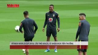 Tin Thể Thao 24h Hôm Nay (7h - 7/6): Nếu Vô Địch World Cup 2018, ĐT Brazil Sẽ Nhận Mưa Tiền Thưởng