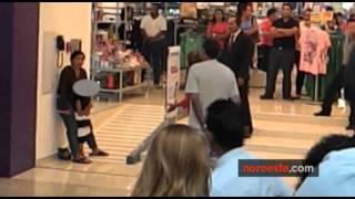 Rescatan a niña en centro comercial de Mazatlán