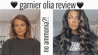 ammonia-free hair dye?! Garnier Olia $4.99 REVIEW / BEFORE & AFTER