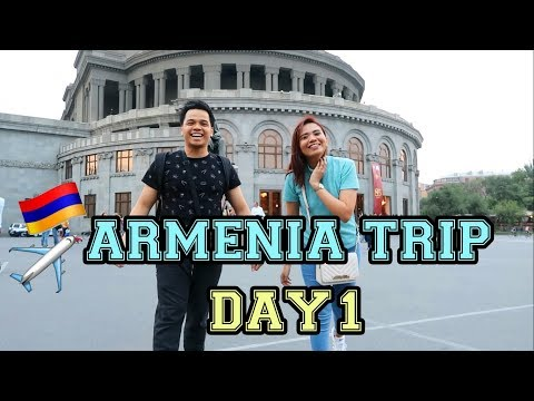 ARMENIA TRIP - DAY 1 (VLOG # 20) | Donna Krizel