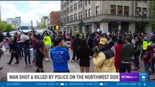 Protests Around Fatal Officer-Involved Shooting