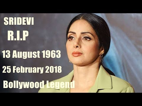Sridevi Passes Away At 55 Year sridevi