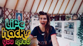 LIFE HACKS FROM THE HOMESTEAD - OFF GRID LIVING NZ