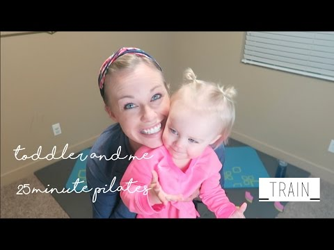 Toddler and Me Pilates