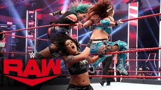 Sasha Banks & Bayley vs. The Kabuki Warriors – WWE Women's Tag Team Title Match: Raw, July 13, 2020
