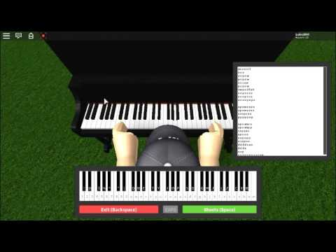 call me maybe piano sheet music roblox