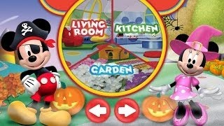 Mickey Mouse Clubhouse Color and Play (Halloween Theme) | Coloring App for Kids