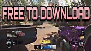 Call of Duty Black Ops 3 Clip Pack (1080p 60fps) FREE DOWNLOAD