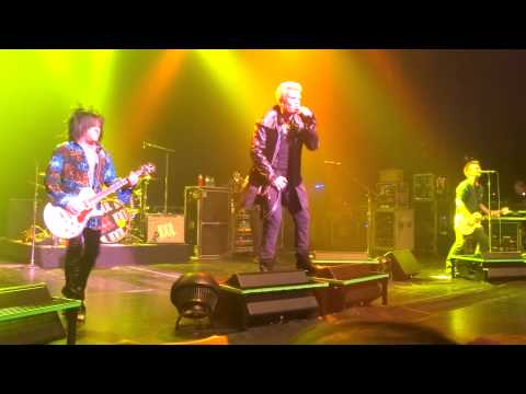 BILLY IDOL - Postcards From The Past - 19 Nov. 2014