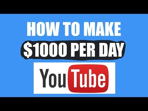 Earn $1000 Per Day On YouTube Without Making Any Videos - Passive Income