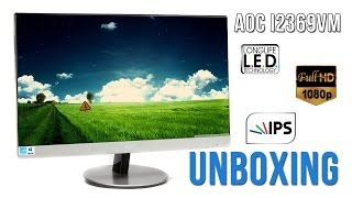 monitor aoc i2369vm unboxing pl