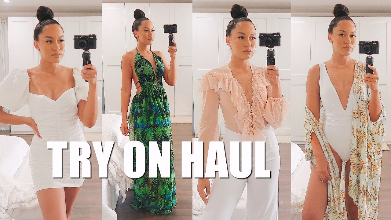HUGE SUMMER + VACATION CLOTHING HAUL | Marie Jay 9