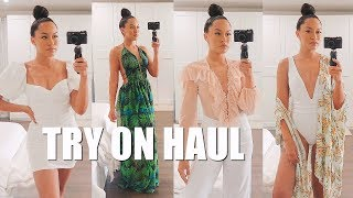 HUGE SUMMER + VACATION CLOTHING HAUL | Marie Jay