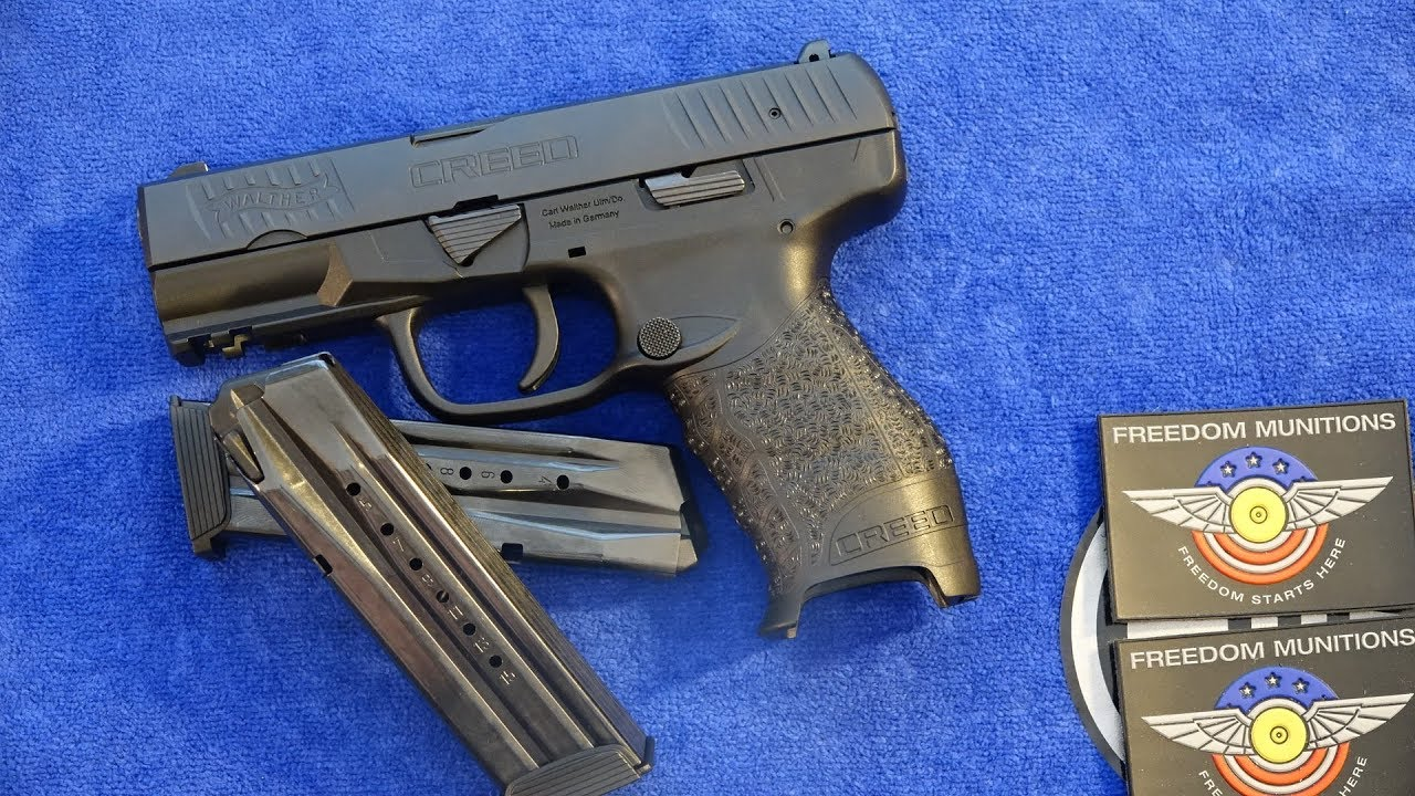 Walther Creed 9mm Pistol Review (HD)