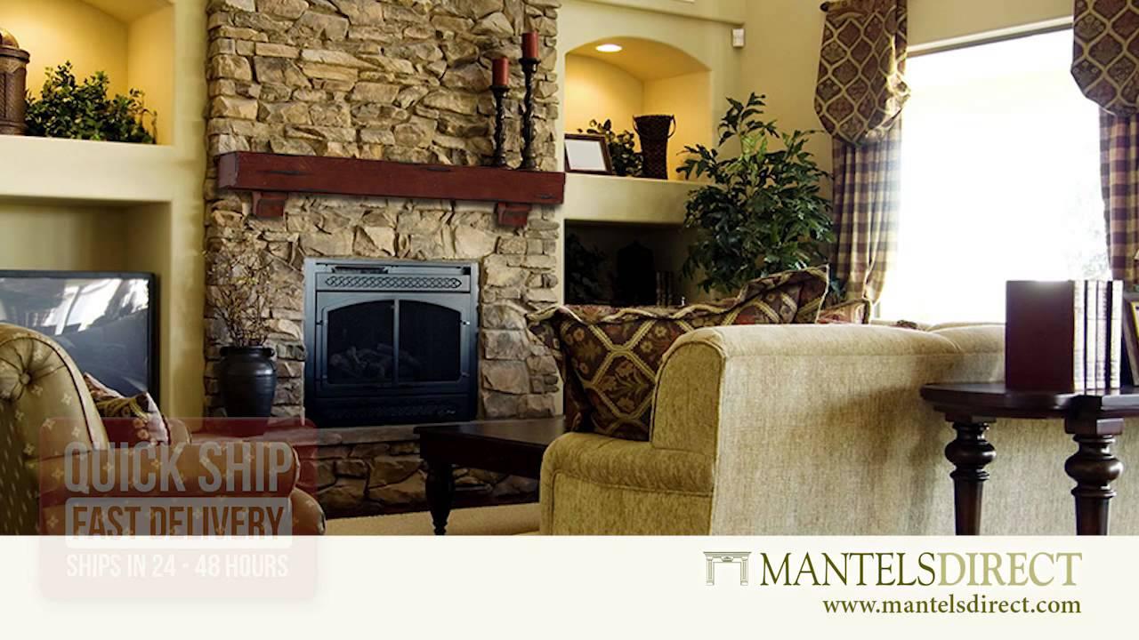 Fireplace Mantel Shelves | Mantels Direct | 1 888 493 8898   YouTube
