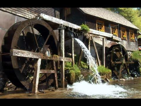 Die Geschichte der Wassermühlen