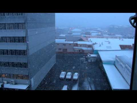 Snowing in Palmerston North City 15-8-2011 - Part II