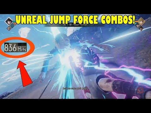 800+ Hit Combo, 90% Damage? JUMP FORCE UNREAL COMBOS!