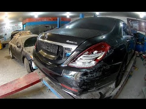 Mercedes Benz W222 S500  Кузовной ремонт в Армении/Body Repair In Armenia