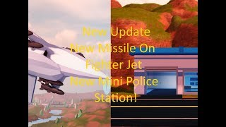 trungbui Roblox Jailbreak New Missiles On Fighter Jet!