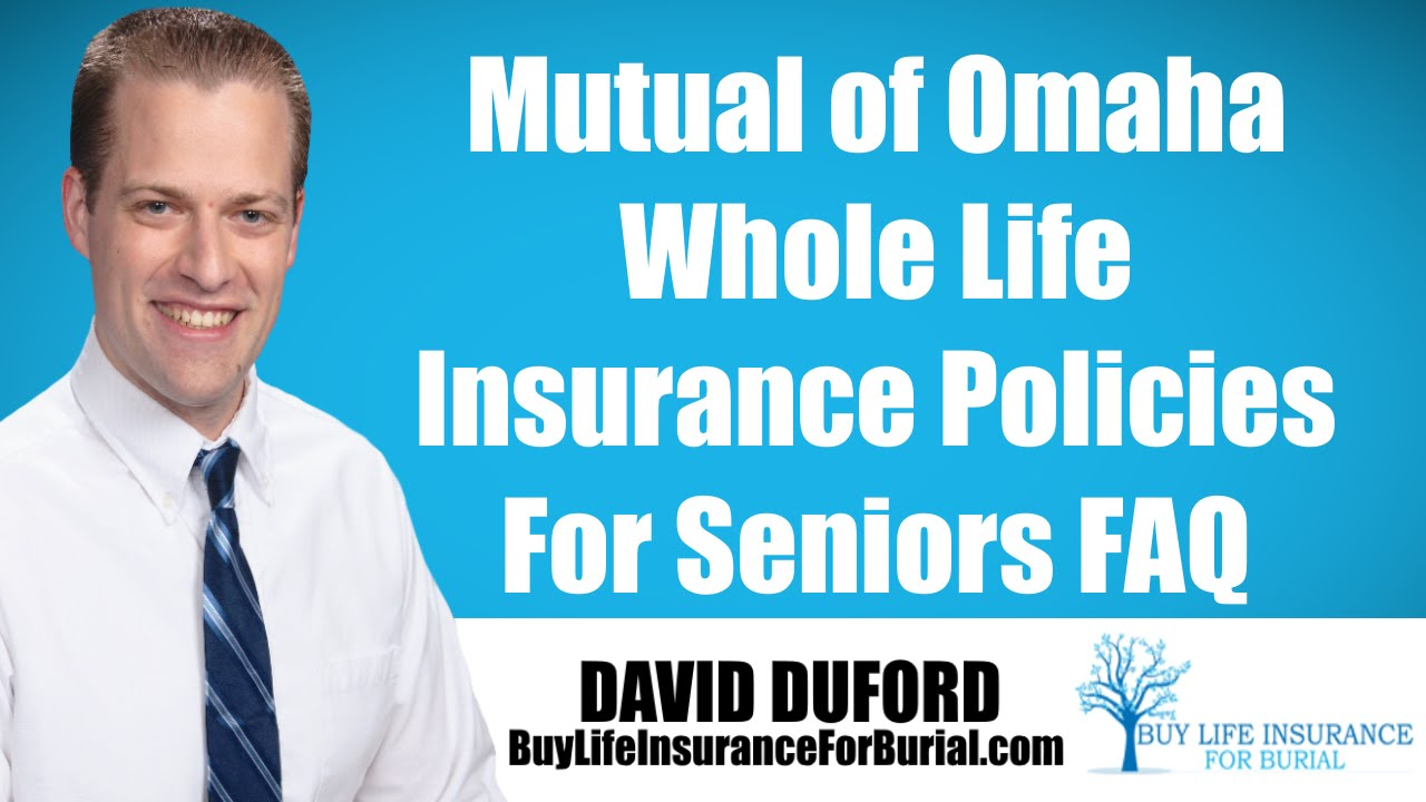 Aarp Life Insurance Quote Mutual Of Omaha Whole Life Insurance Policy  My Review  Youtube