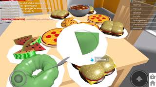 Me playing blox in roblox