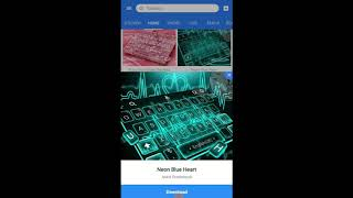 Good Blue Heart Keyboard Theme Alternatives