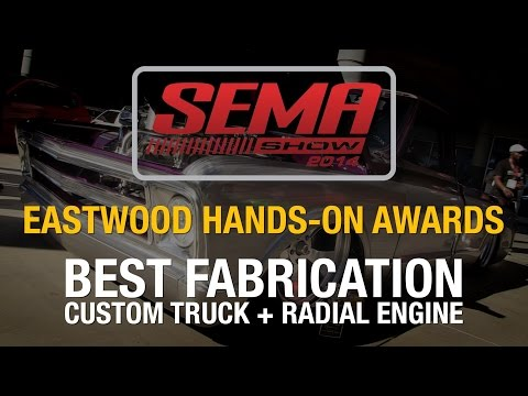 Truck with a Plane Engine!  SEMA 2014 - Eastwood 'Hands-On Awards' Best Fabrication - Radial Engine